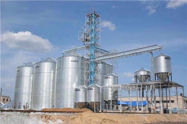 Комплекс по переработке и хранению зерновых культур на 20 000 тонн