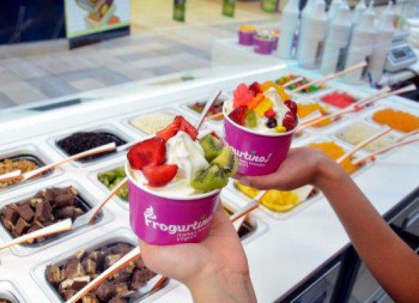 Frogurtino - сеть по продаже замороженного йогурта